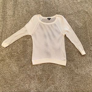 EXPRESS White Light weight sweater